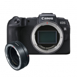 Canon EOS RP + RF Adaptor image here